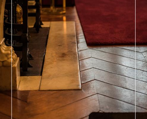 historische houten vloer
